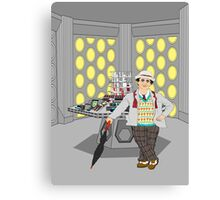 The Seventh Doctor Canvas Print