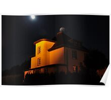 Smoke From the Chimney, By the Light of the Moon Poster