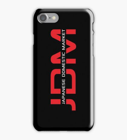 JDM Japanese Domestic Market (dark background) iPhone Case/Skin