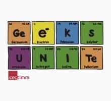 Geek Chic Range: Geeks Unite (Elementary) Kids Tee