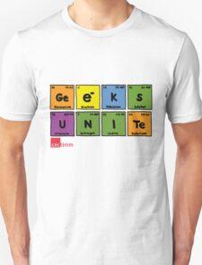 Geek Chic Range: Geeks Unite (Elementary) T-Shirt