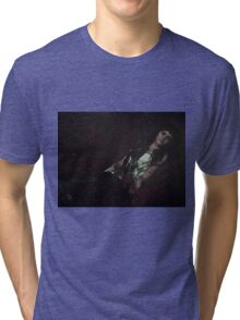 Gothic sleeping Beauty Tri-blend T-Shirt