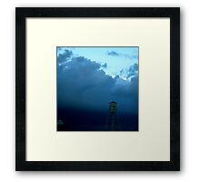 Raleigh-Durham Darkening Framed Print