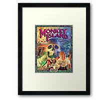 The Secret of Monkey Island Framed Print
