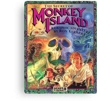 The Secret of Monkey Island Canvas Print