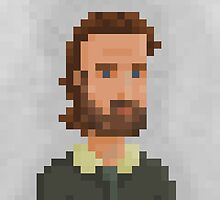 Rick TWD by pixelfaces