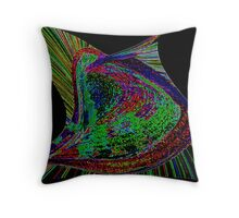 Psychedelia 2. Throw Pillow
