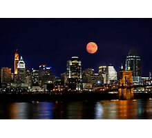 Cincinnati Skyline Photographic Print