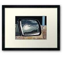 Reflection of a Storm Framed Print