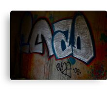Cracow Graffiti  Undreground Center . Brown Sugar . Views (300) Thx! Canvas Print