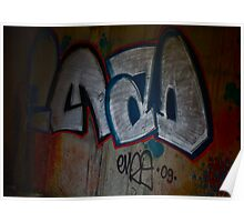 Cracow Graffiti  Undreground Center . Brown Sugar . Views (300) Thx! Poster