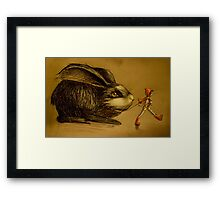 The Watchful Companion Framed Print