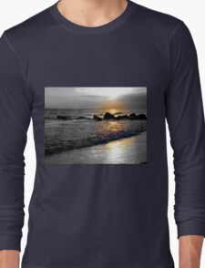 Atlantic Ocean Sunset Long Sleeve T-Shirt