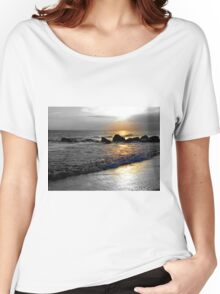 Atlantic Ocean Sunset Women's Relaxed Fit T-Shirt