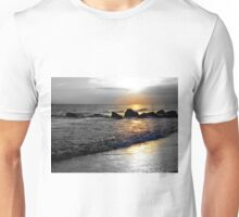 Atlantic Ocean Sunset Unisex T-Shirt