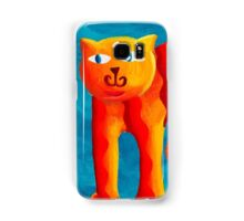 Curved Cats Samsung Galaxy Case/Skin
