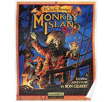Monkey Island 2: Le Chuck's Revenge Poster