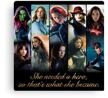 Women of Marvel Canvas Print