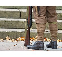 Off to the great war Photographic Print