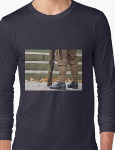 Off to the great war Long Sleeve T-Shirt