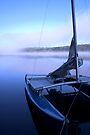 Hobie on Kennebec Lake by Debbie Pinard