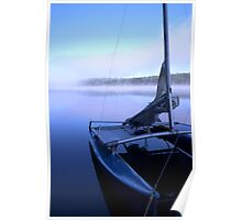 Hobie on Kennebec Lake Poster