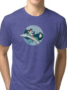 Ghibli Cutouts - Spirited Away Tri-blend T-Shirt