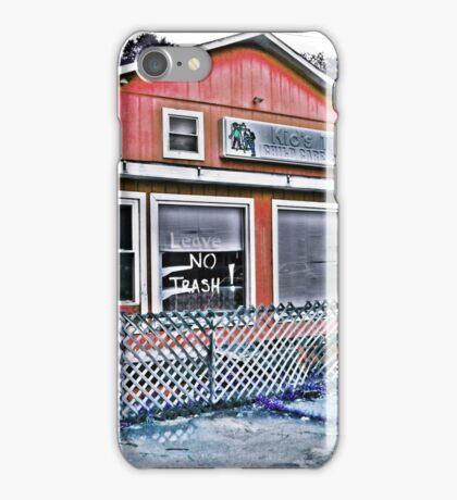 No Trash Left Behind iPhone Case/Skin