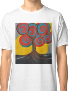 Recovery Tree ~ print of oil pastel portrait Classic T-Shirt