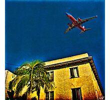 San Diego, Flight Path #1 Photographic Print