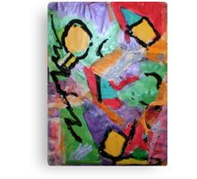 EXCITING Canvas Print