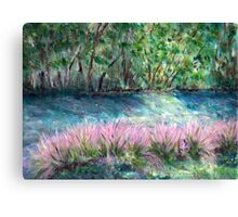 Pink Waterfront Canvas Print