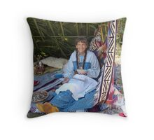 Rosalee Lane, Creek Potter, Panama City, FL Throw Pillow