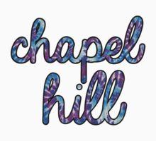Chapel Hill Purple Tie Dye by katiefarello