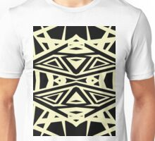 black and yellow Unisex T-Shirt