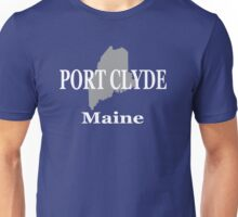 Port Clyde Maine State City and Town Pride  Unisex T-Shirt
