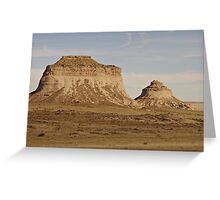 Pawnee Buttes Greeting Card