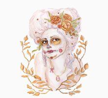 Dia de las Muertos - Marie Antoinette Womens Fitted T-Shirt