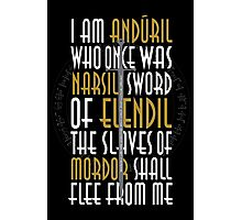 Sword of the King Photographic Print