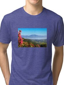 Saint Tropez Bay, View from Gassin Tri-blend T-Shirt