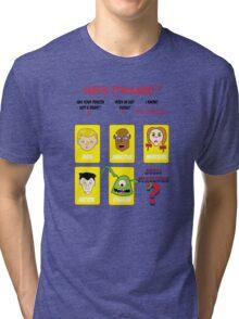 Guess CthulWho? Tri-blend T-Shirt