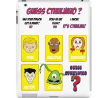 Guess CthulWho? iPad Case/Skin