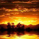 Golden Sunset by George Lenz