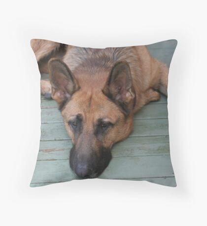Bored! Throw Pillow