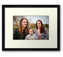 the 3 of us Framed Print