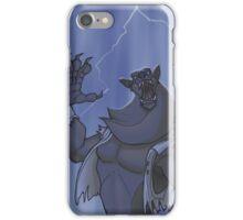 Badass Werewolf Roaring In Lightning iPhone Case/Skin