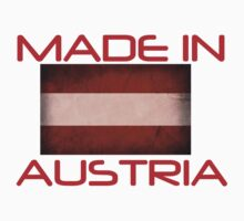 Made In Austria T Shirt Kids Clothes