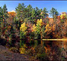 Autumn colours, Hiawatha Park Ontario Canada by Eros Fiacconi (Sooboy)