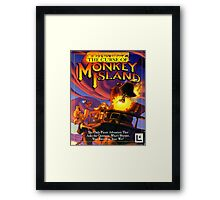 The Curse of Monkey Island Framed Print