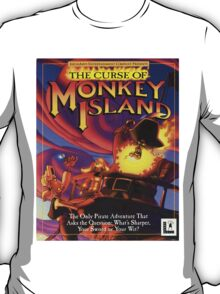 The Curse of Monkey Island T-Shirt